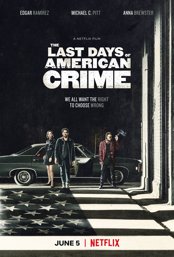 The Last Days of American Crime (Netflix) Large Poster