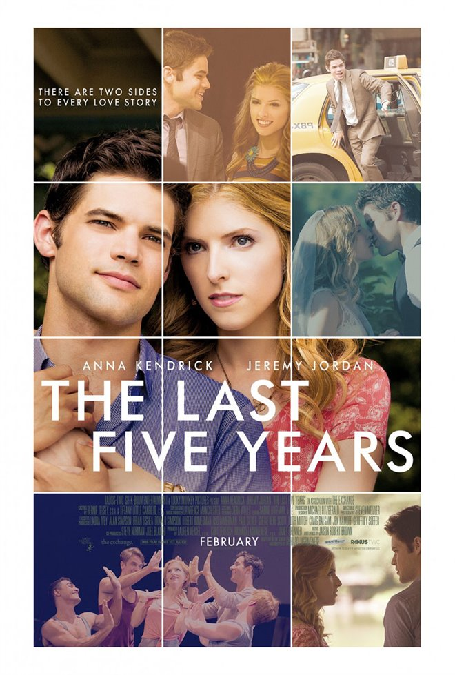 The Last Five Years Large Poster