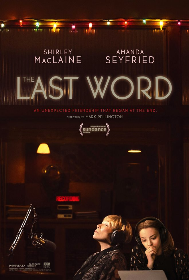 The Last Word Large Poster