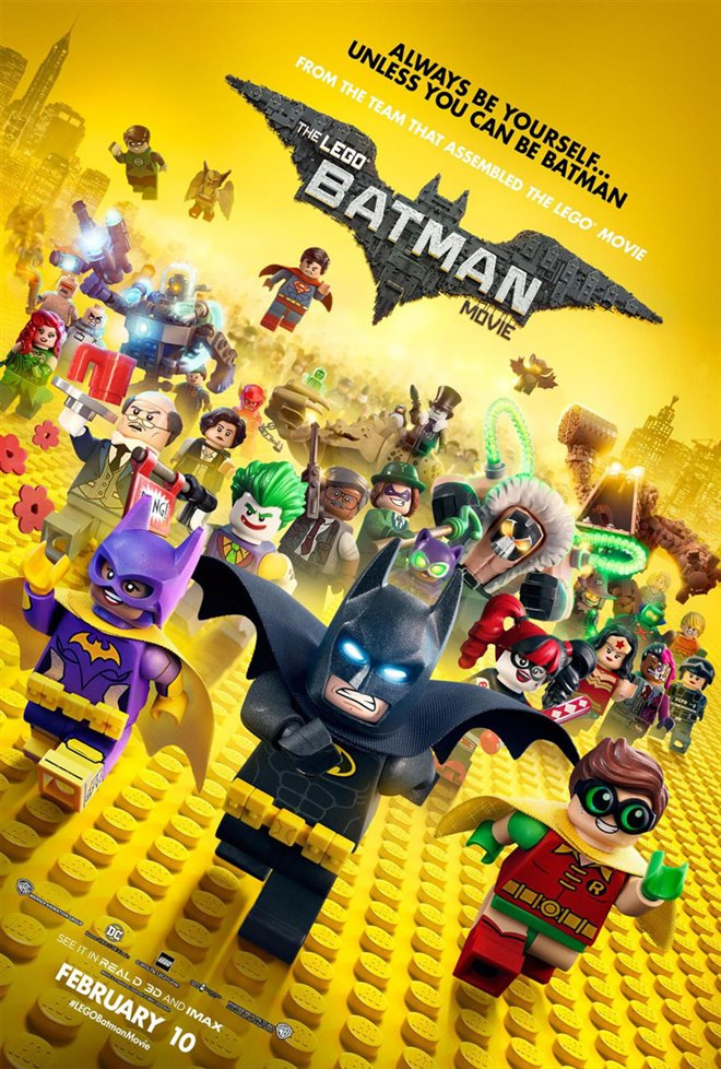 The LEGO Batman Movie Large Poster