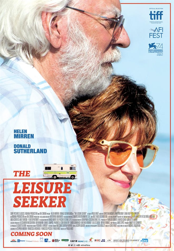The Leisure Seeker (v.o.a.) Large Poster