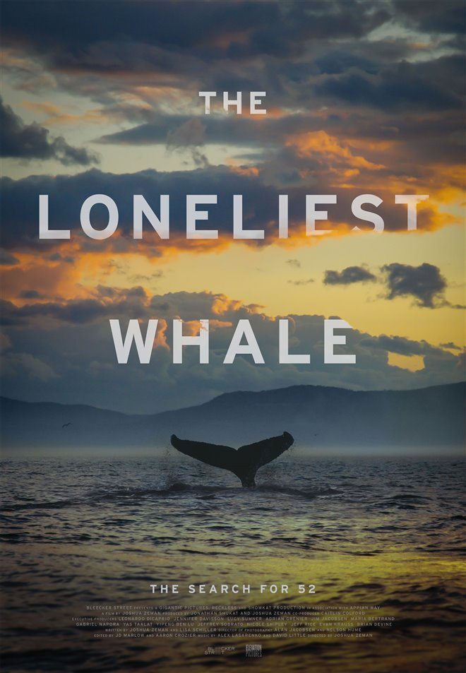 The Loneliest Whale: The Search for 52 Large Poster