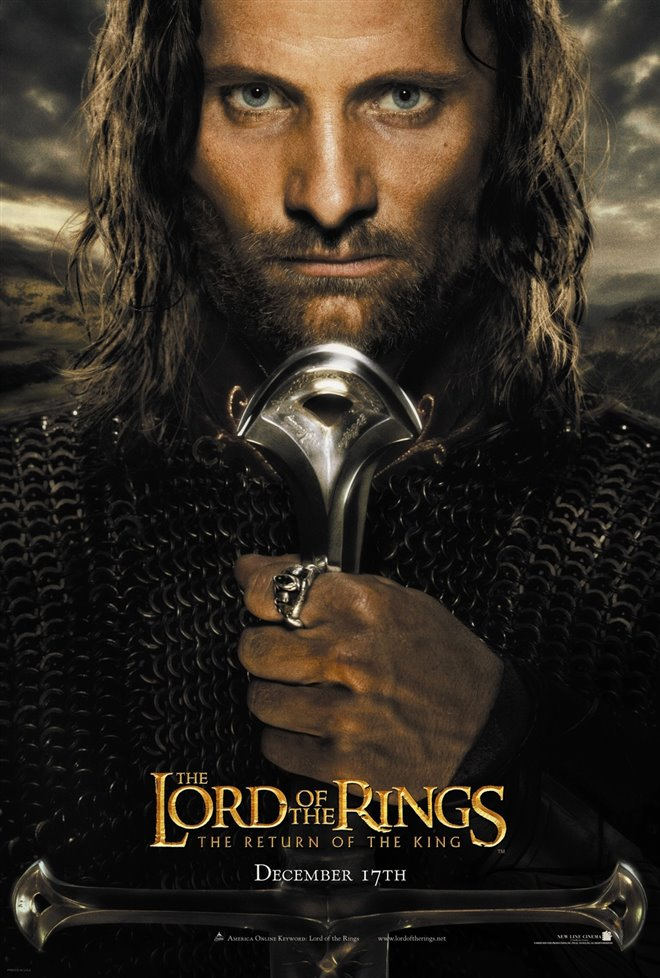 The Lord of the Rings: The Return of the King - 4K Remaster Large Poster