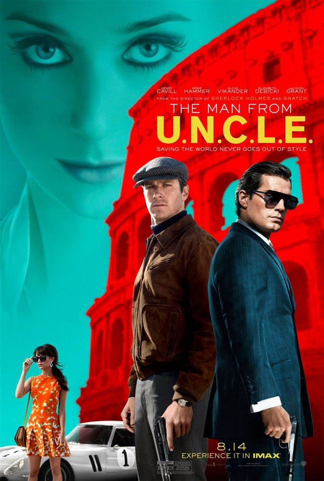 The Man from U.N.C.L.E. Large Poster