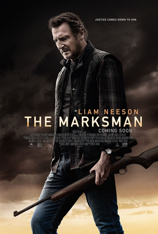 The Marksman Large Poster
