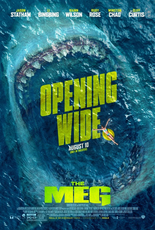 The Meg Large Poster