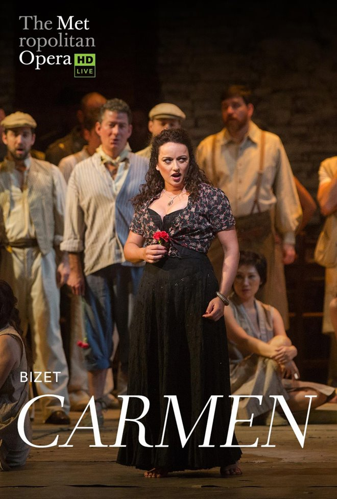 The Metropolitan Opera: Carmen (Revival) Large Poster