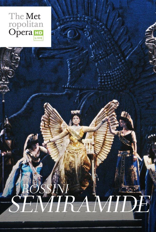 The Metropolitan Opera: Semiramide Large Poster