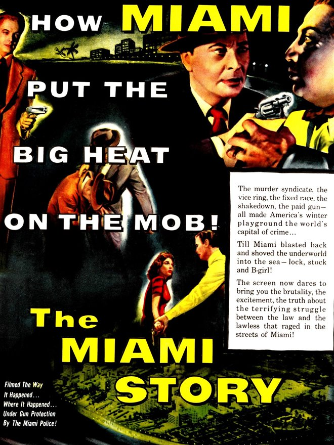The Miami Story Large Poster