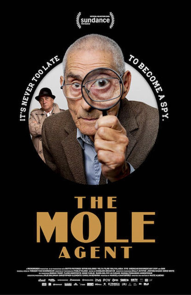 The Mole Agent Large Poster