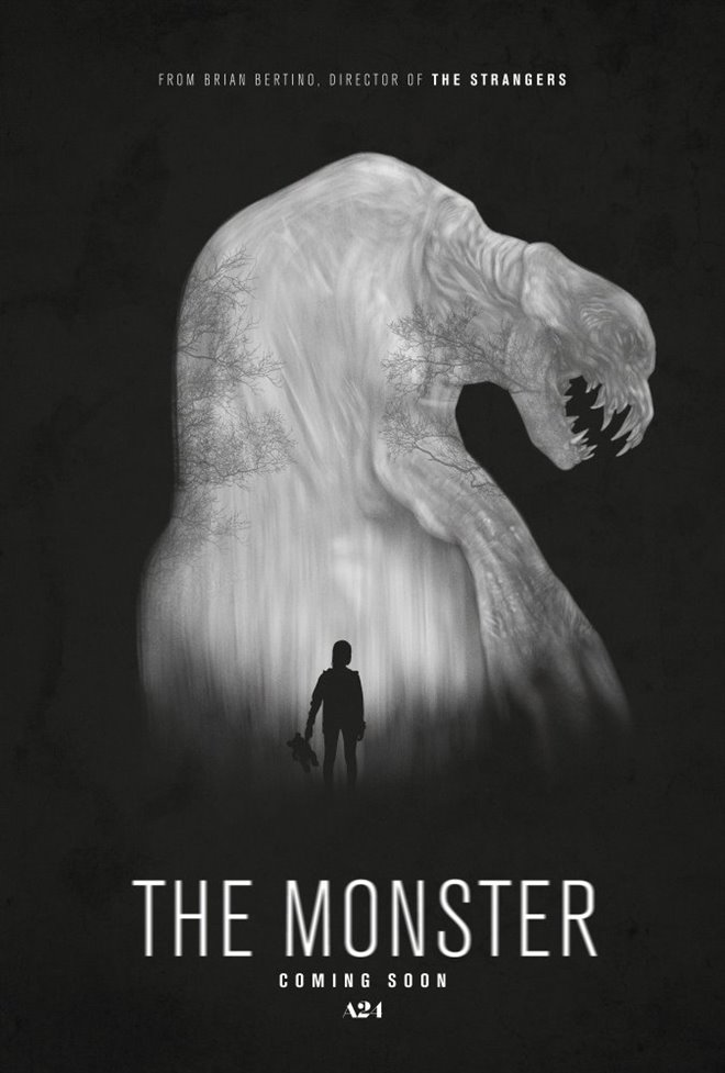 The Monster Large Poster