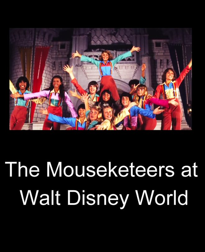 The Mouseketeers at Walt Disney World Large Poster