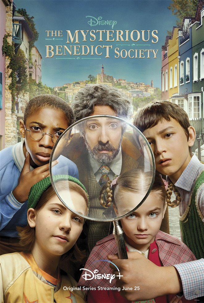 The Mysterious Benedict Society (Disney+) Large Poster