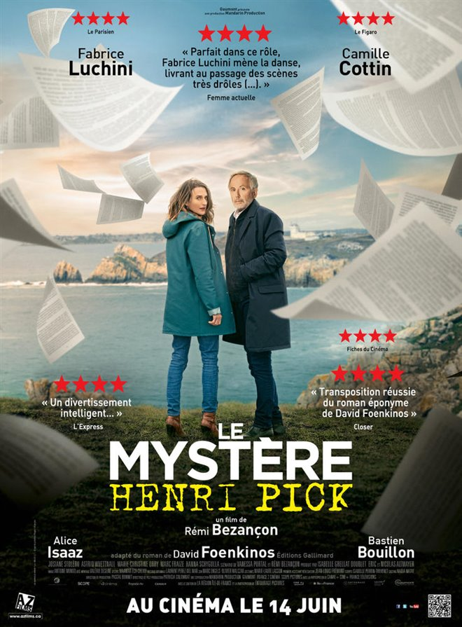 The Mystery of Henri Pick Large Poster