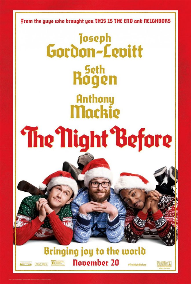 The Night Before Large Poster