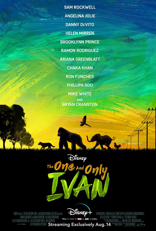 The One and Only Ivan (Disney+) Large Poster