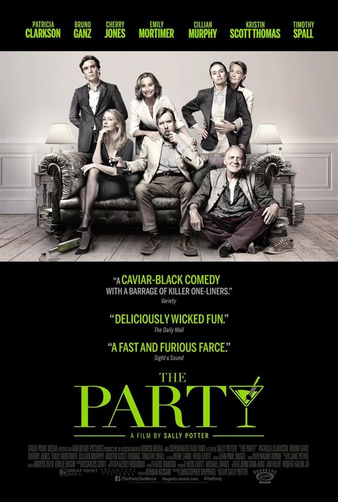 The Party (v.o.a.) Large Poster