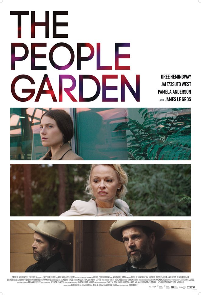 The People Garden Large Poster