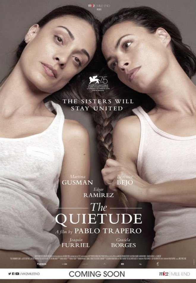 The Quietude Large Poster