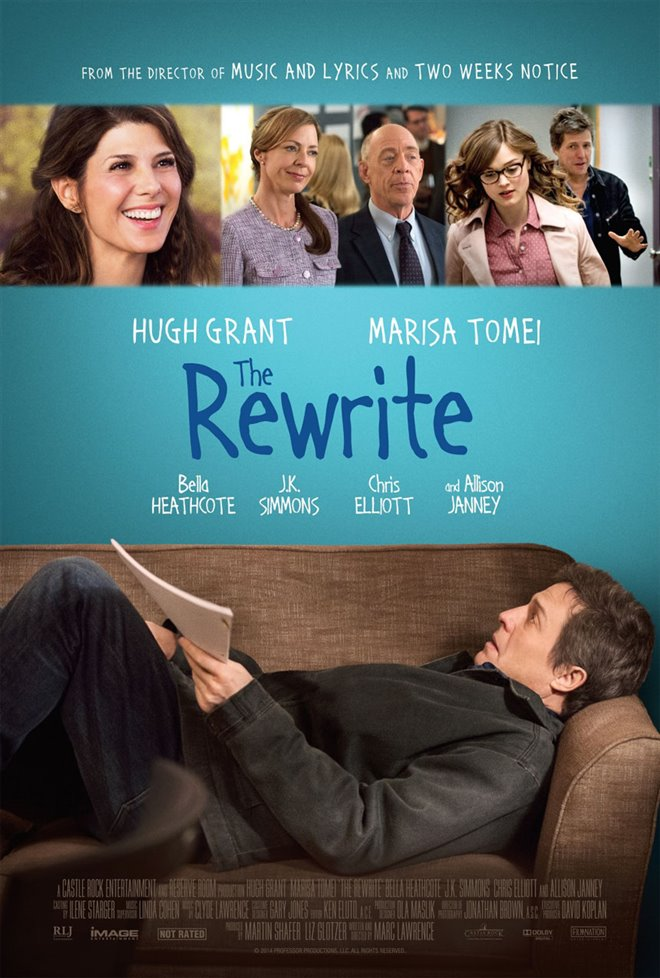 The Rewrite Large Poster