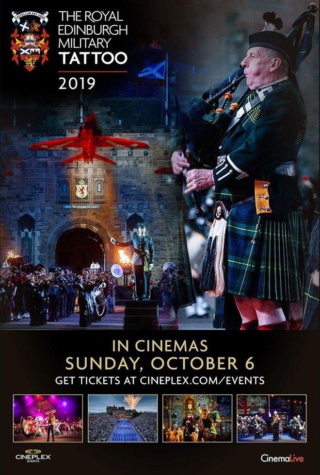 The Royal Edinburgh Military Tattoo Large Poster