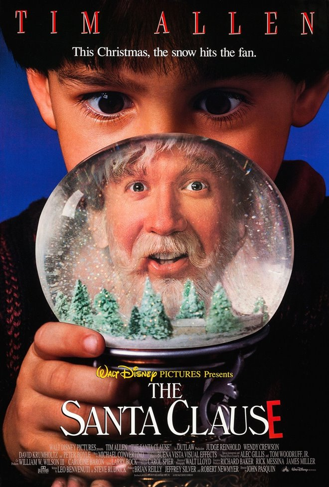 The Santa Clause Large Poster