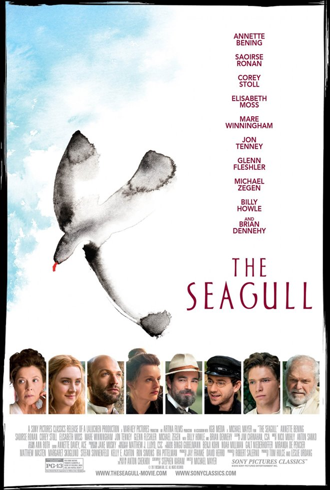 The Seagull Large Poster