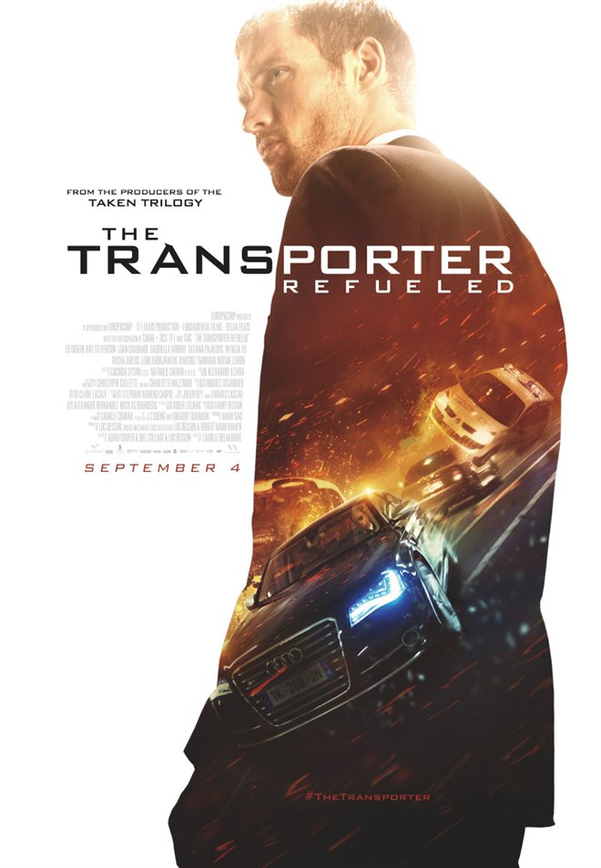 The Transporter Refueled Large Poster