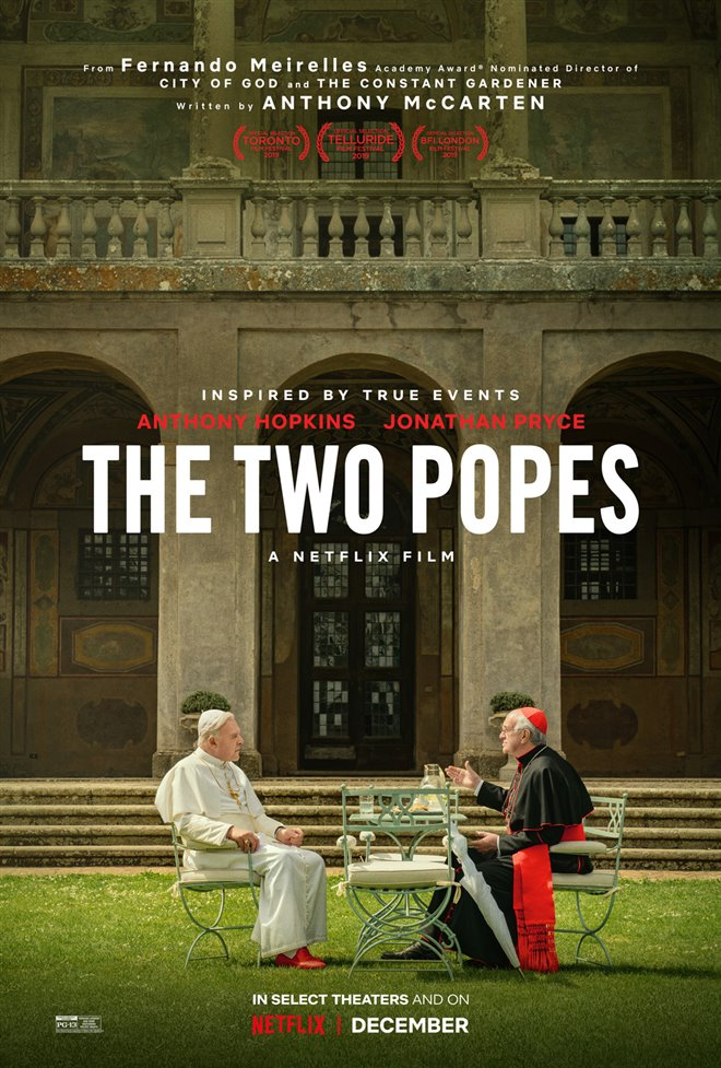 The Two Popes (Netflix) Large Poster
