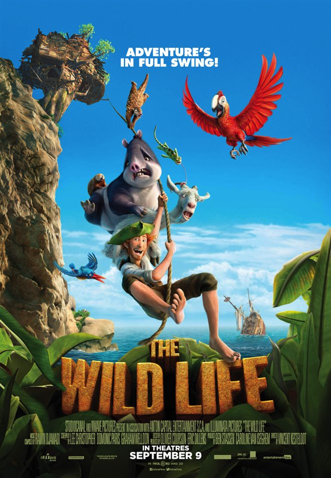 The Wild Life Large Poster
