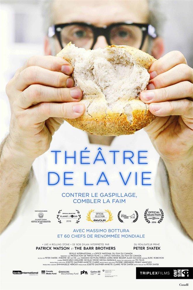 Théâtre de la vie Large Poster