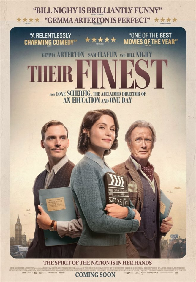 Their Finest (v.o.a.) Large Poster