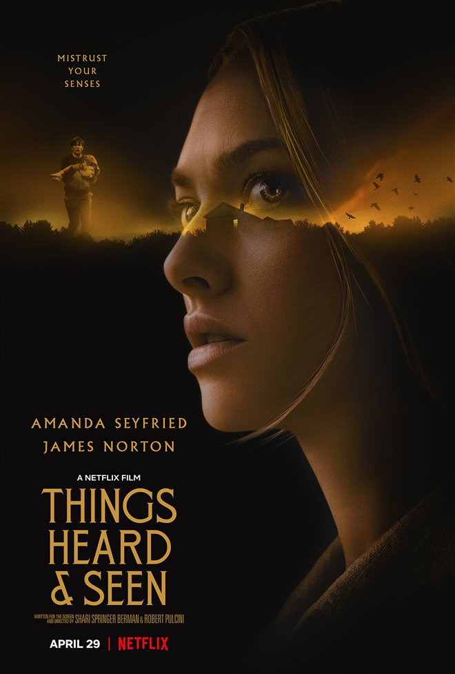 Things Heard & Seen (Netflix) Large Poster
