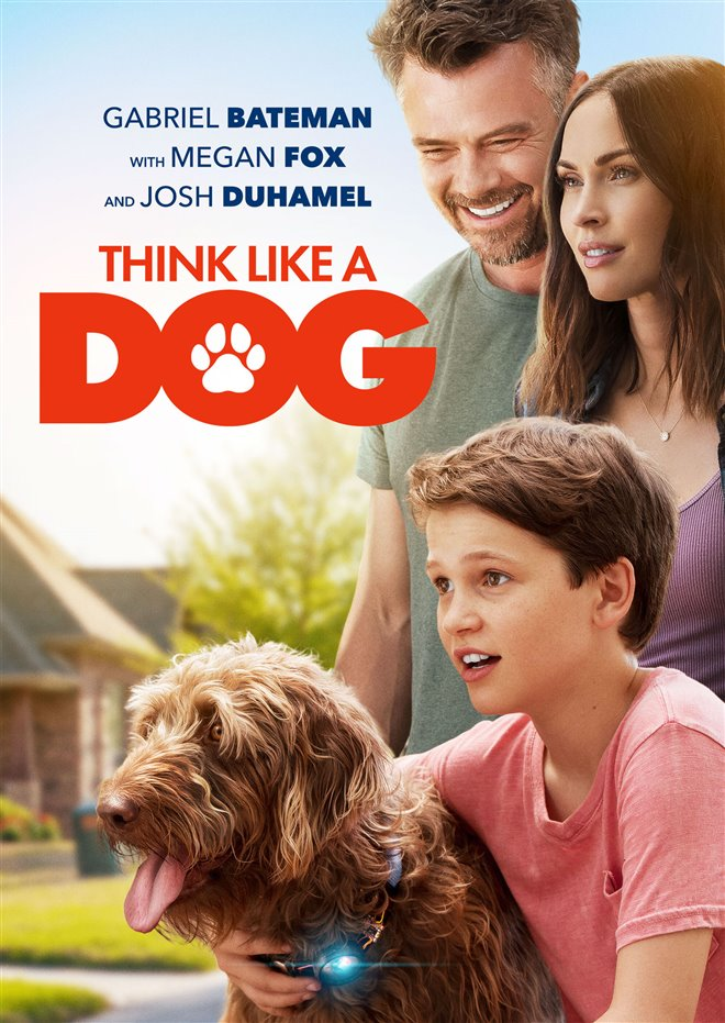 Think Like a Dog Large Poster