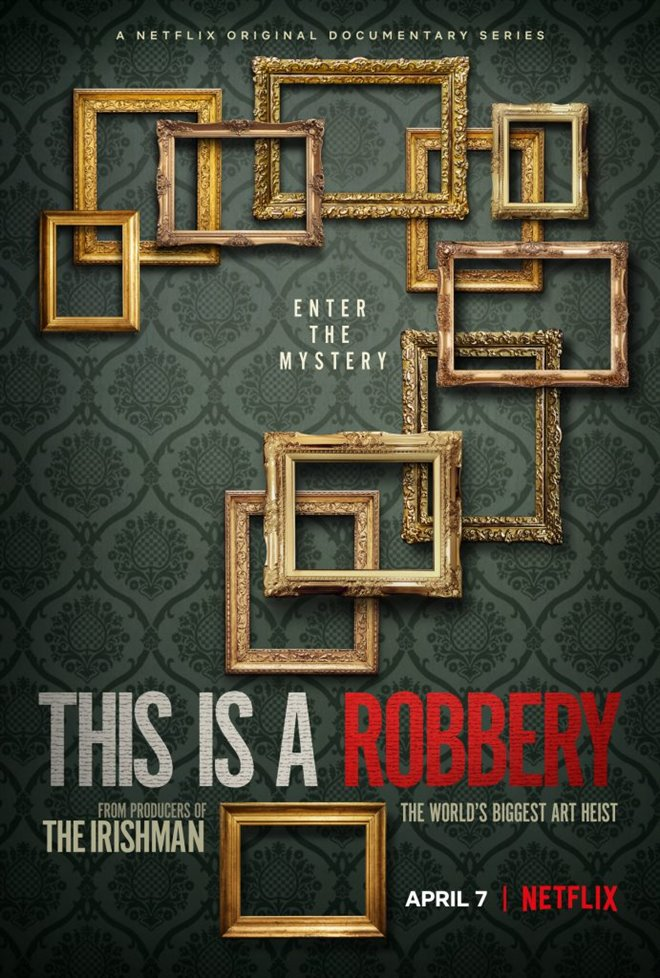 This is a Robbery: The World's Greatest Art Heist (Netflix) Large Poster