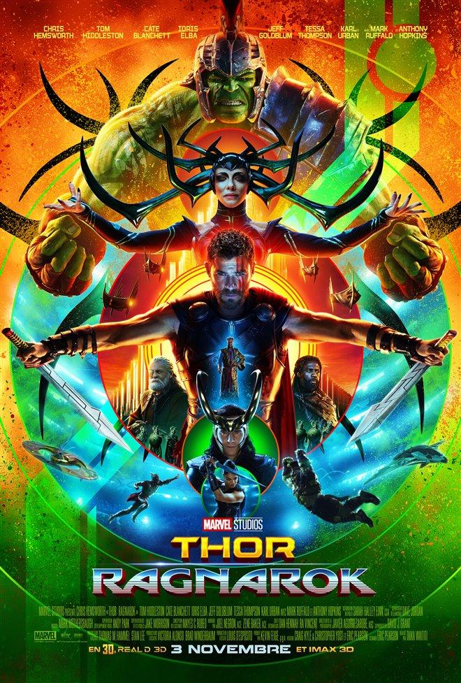 Thor : Ragnarok (v.f.) Large Poster
