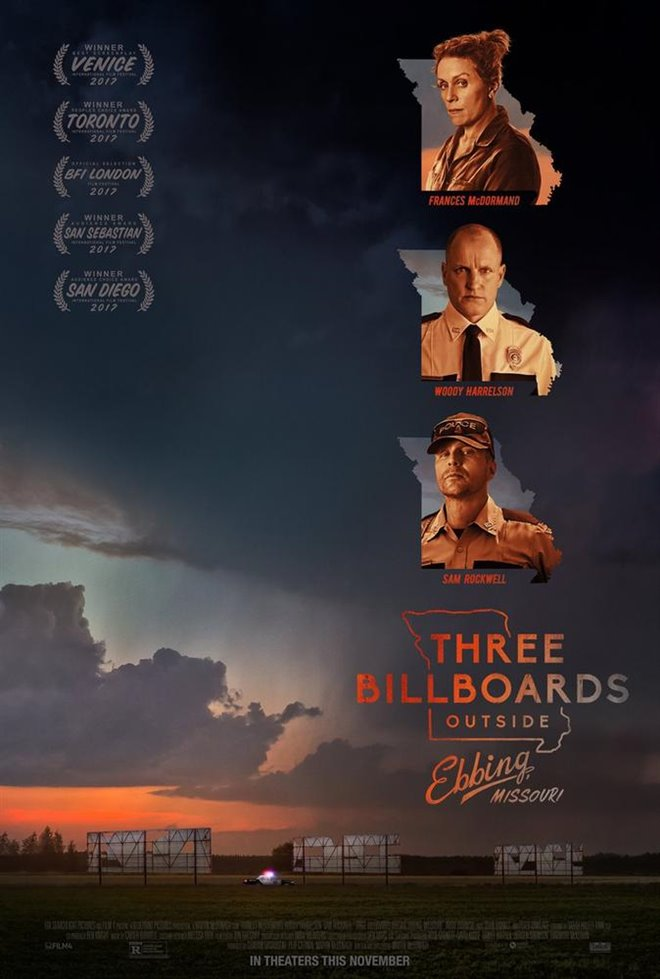 Three Billboards Outside Ebbing, Missouri Large Poster
