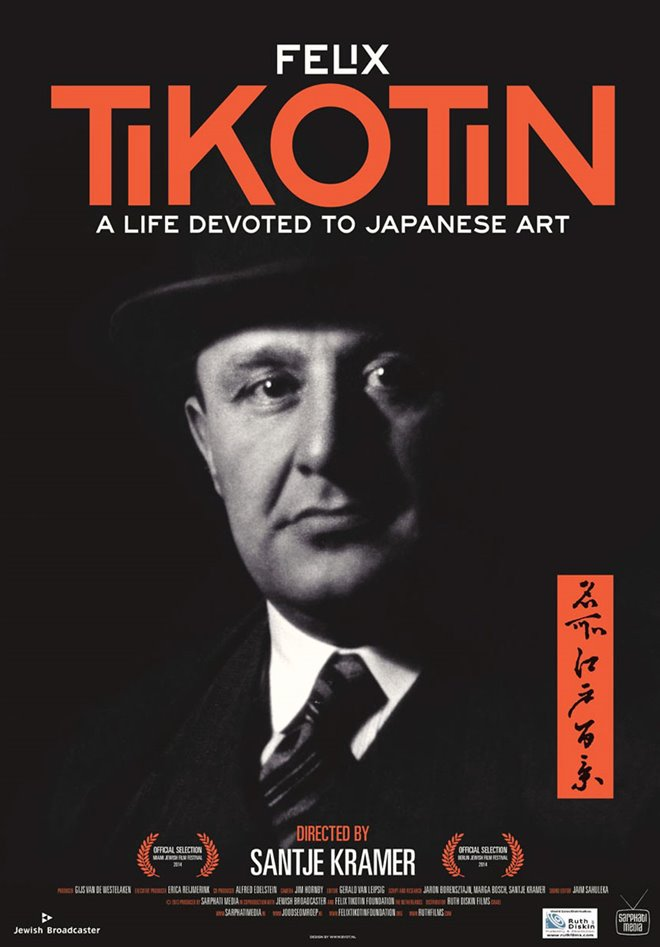 Tikotin - A Life Devoted to Japanese Art Large Poster