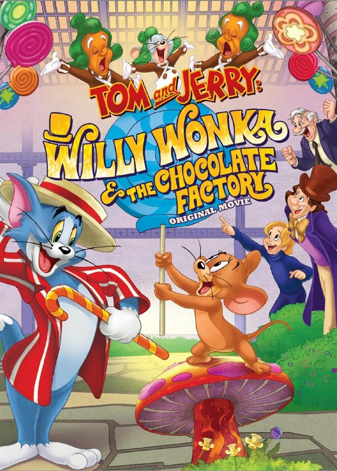 Tom and Jerry: Willy Wonka and the Chocolate Factory Large Poster