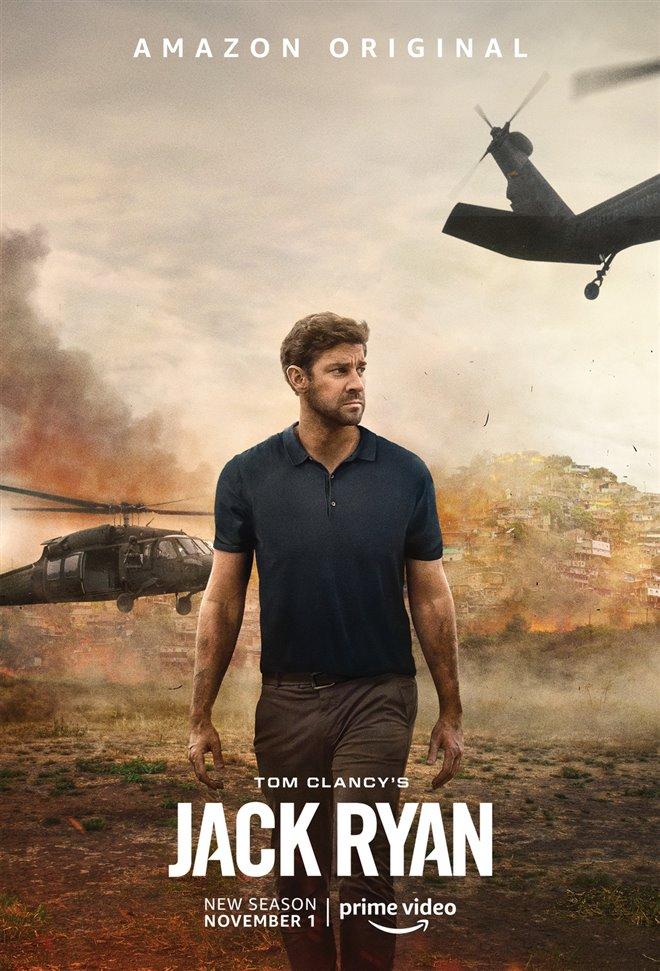 Tom Clancy's Jack Ryan (Amazon Prime Video) Large Poster