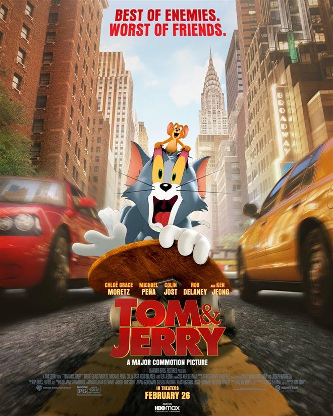 Tom & Jerry (v.f.) Large Poster