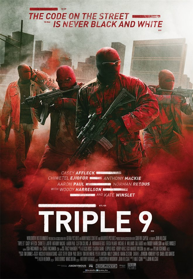 Triple 9 Large Poster