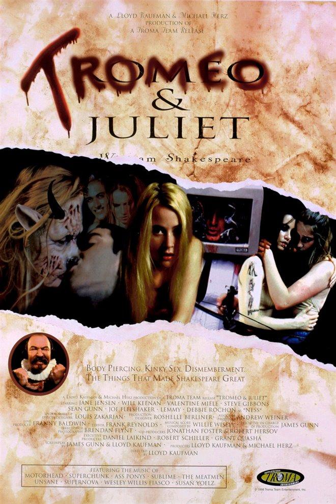 Tromeo & Juliet Large Poster