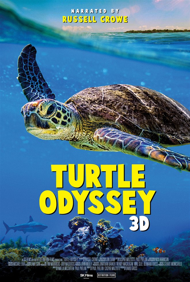 Turtle Odyssey Large Poster