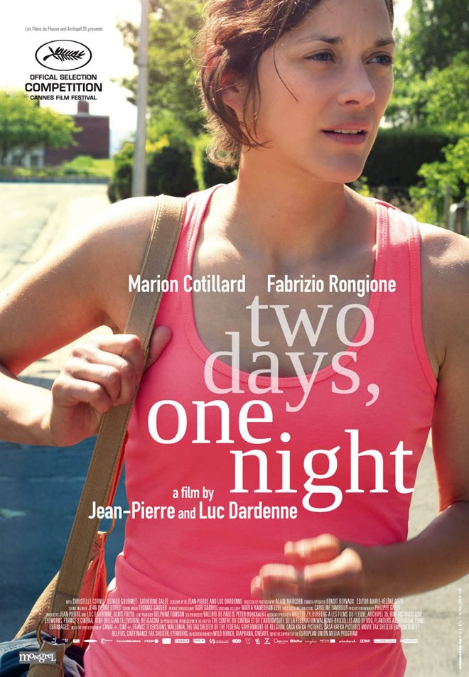 Two Days, One Night Large Poster