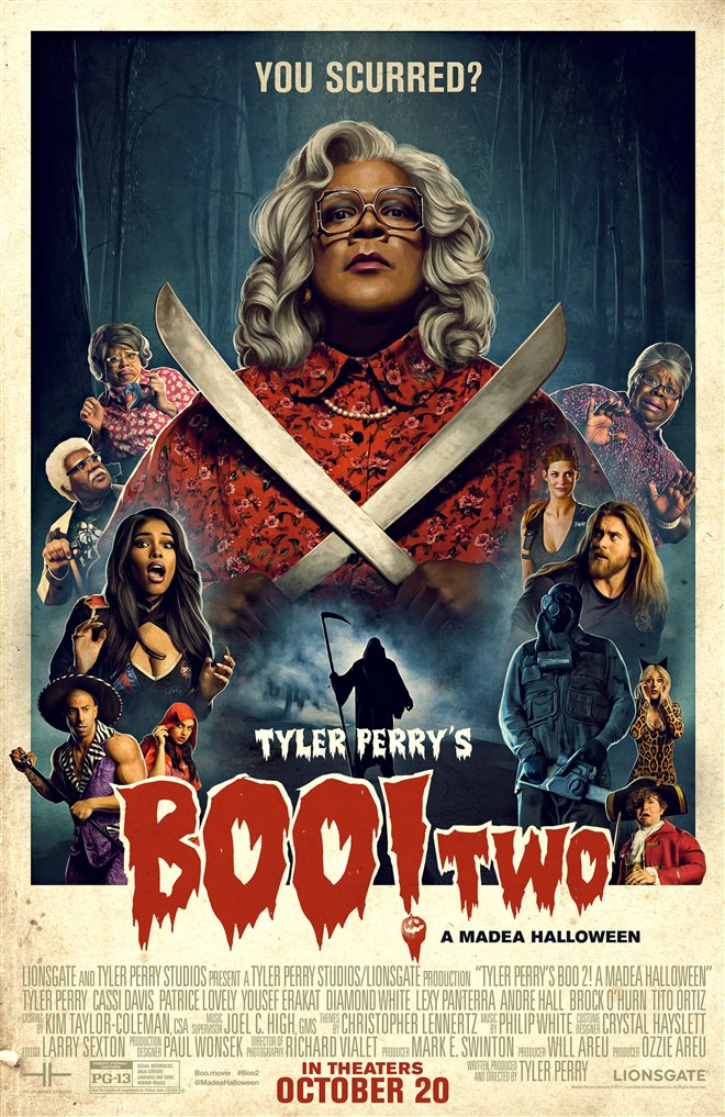 Tyler Perry's Boo 2! A Madea Halloween Large Poster