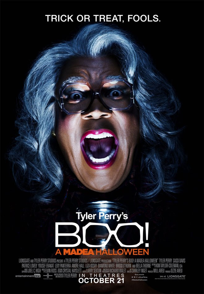Tyler Perry's Boo! A Madea Halloween (v.o.a.) Large Poster