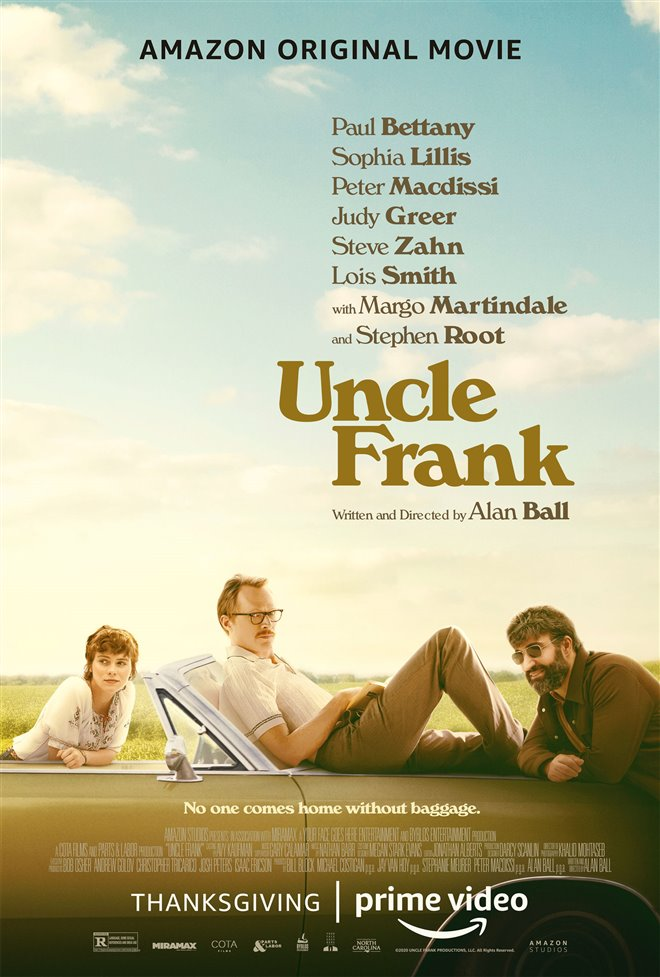 Uncle Frank (Amazon Prime Video) Large Poster