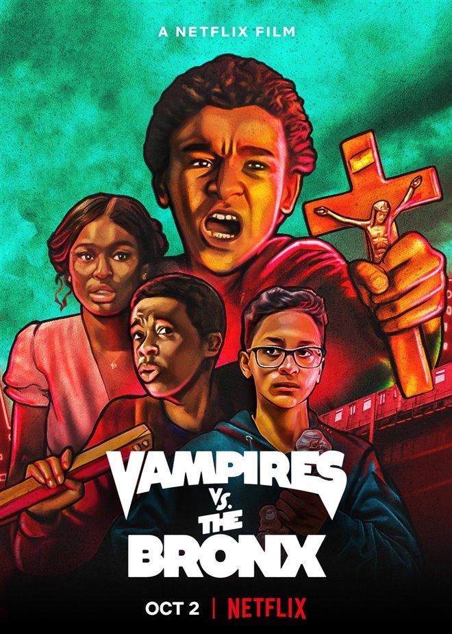 Vampires vs. the Bronx (Netflix) Large Poster
