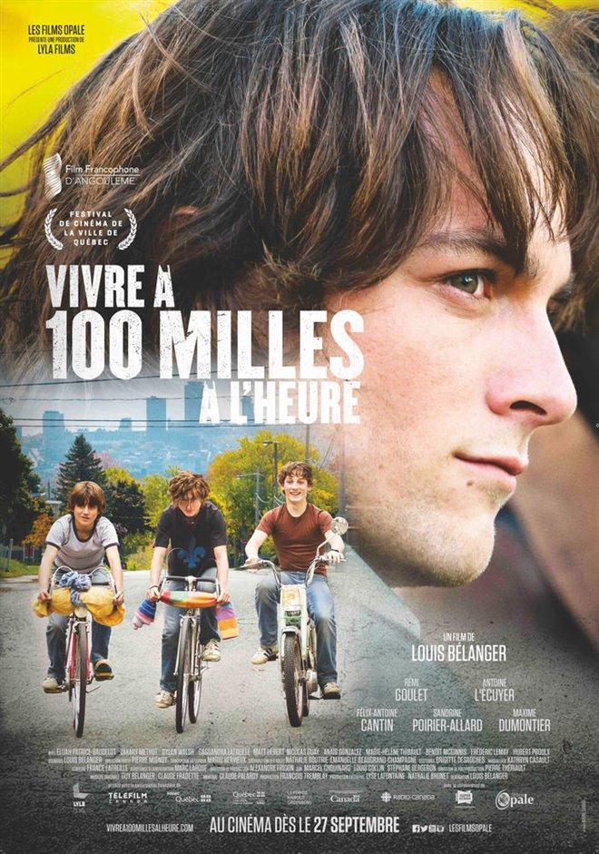 Vivre à 100 milles à l'heure (v.o.f.) Large Poster